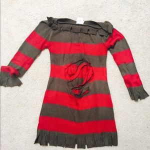 Freddy Kruger Halloween Costume Dress