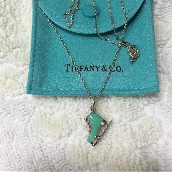 Tiffany co jewelry tiffany ice skate charm necklace poshmark tiffany ice skate charm necklace aloadofball Gallery