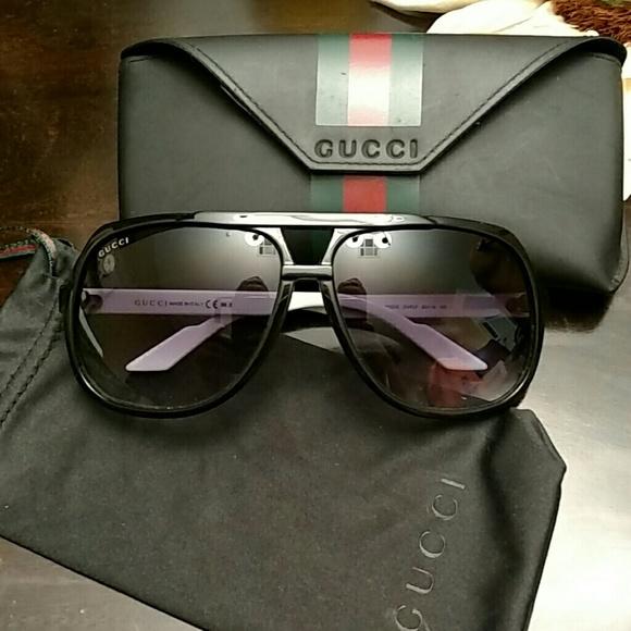 5f664d0041e0d Gucci Accessories - Gucci 1622 s Aviator Sunglasses