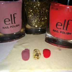 ELF Nail Polish Set