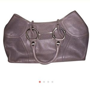 Leather Kenneth Cole handbag
