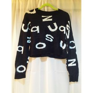 Rue 21 Sweaters - Brand new letter crop sweater