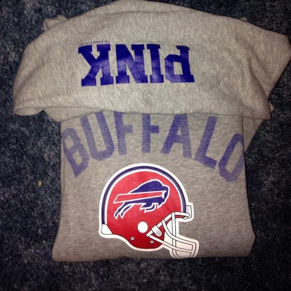fb975c3d31e Buffalo Bills Hoodie. VS PINK. M 56165af27f0a05edd2004847