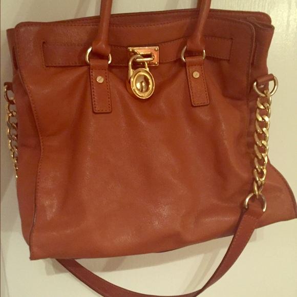 Michael Kors Cognac purse