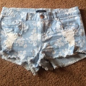 Forever21 jean shorts sz large