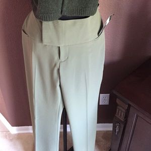 Alvin Valley Pants - 🔥 Green/khaki low rise wide waistband trousers