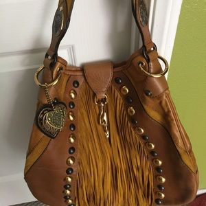 Gucci Limited Edition Fringe  Leather bag