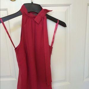 Banana republic size XS hot pink sleeveless top