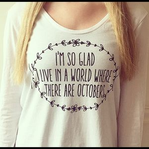 Tops - NWOT: Octobers Shirt