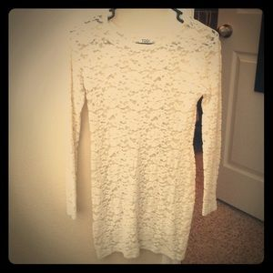 Gorgeous white lace dress