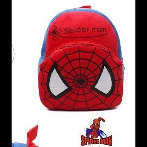 Handbags - Final mark down !!!!🆕Mini Spiderman soft backpack