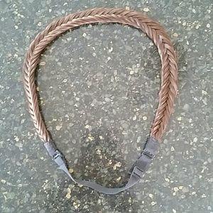 Accessories - Brown braided hair piece