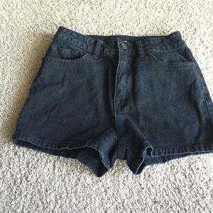 High waist shorts from Urban outfitters