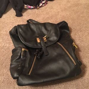 Handbags - Backpack (leather)