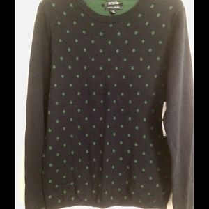Tommy Hilfiger Beautiful Polka-Dot Sweater - L