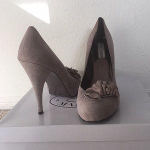 Steve Madden Shoes - BRAND NEW Steve Madden Suede Blush Pumps