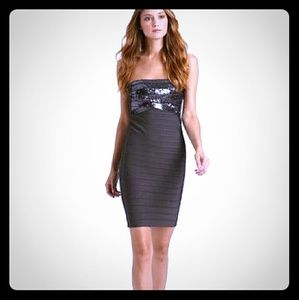 "100% Auth HERVE LEGER ""Simone"" dress XS"