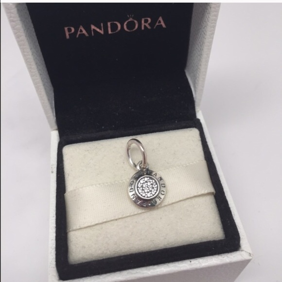 Pandora jewelry signature pendant charm poshmark pandora signature pendant charm aloadofball Images