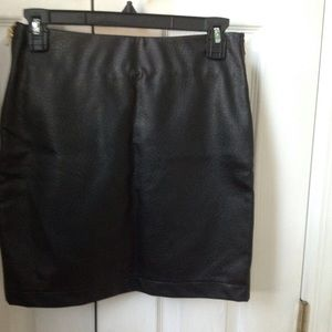 Faux leather skirt Reduced!!!!????????
