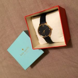 kate spade Accessories - Kate Spade • gold navy wrist watch