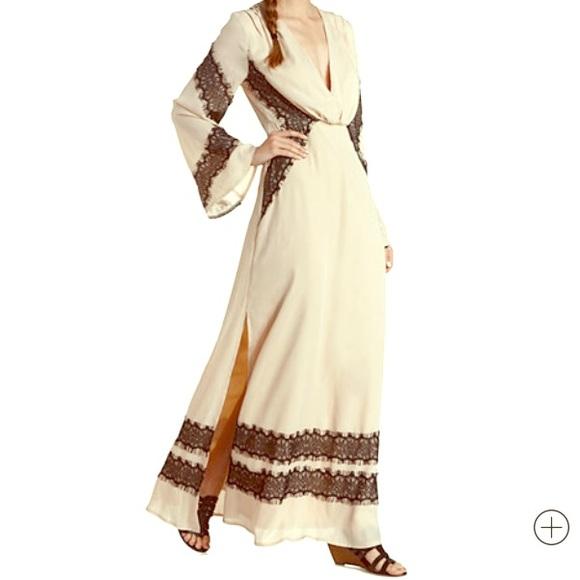 56% off Charlotte Russe Dresses & Skirts - Lace & Chiffon Long ...