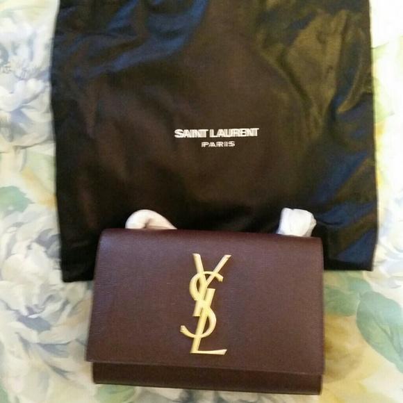 Saint Laurent - Saint Laurent Paris Monogram Crossbody bag YSL NEW ...