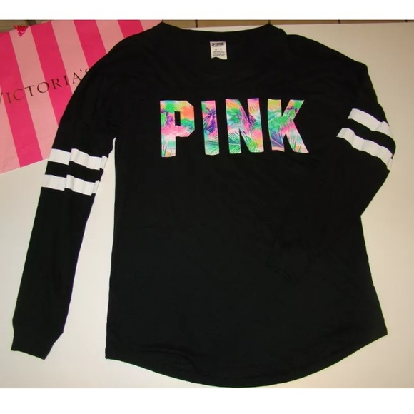 PINK Victoria's Secret - 🚫SOLD🚫NEW PINK VS OPEN BACK LONG SLEEVE ...