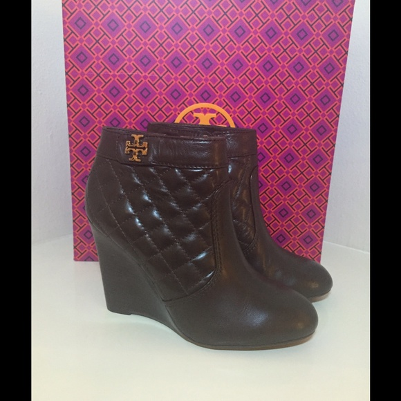 4cafadc6fd14 Tory Burch Leila Wedge Ankle Boots