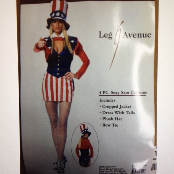 Sexy uncle sam costume