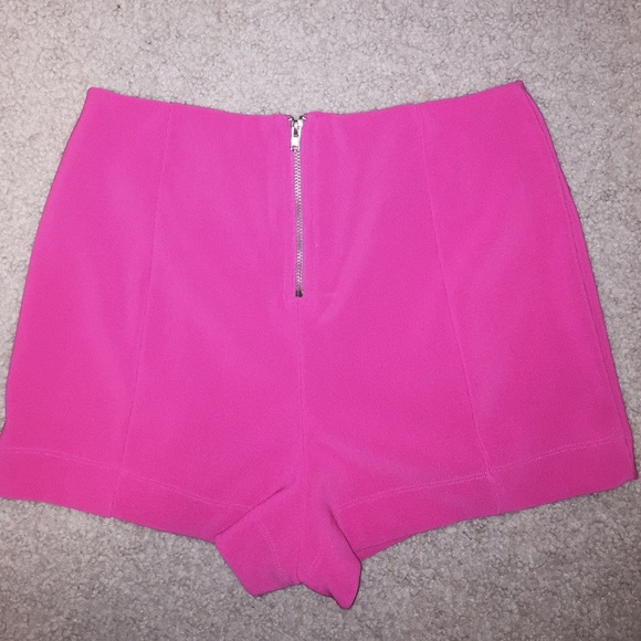 Forever 21 - Hot pink high waisted shorts from Sarah's closet on ...