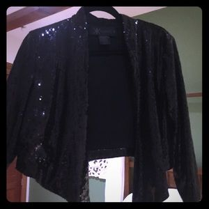 Kardashian Kollection Jackets & Blazers - Blazer Sequined