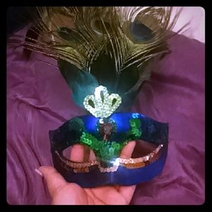 Other - Peacock face mask