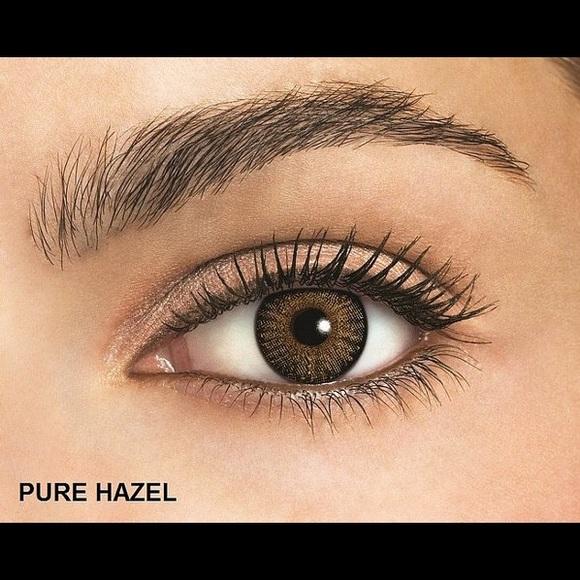 accessories pure hazel color blend fresh look contact lenses