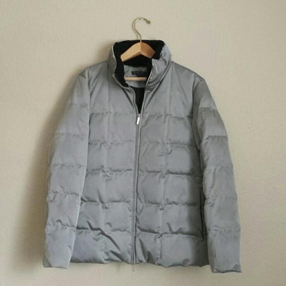 e02c867713d QUICK SALE! Ralph Lauren silver puffer jacket. M 5637a8f1729a6666be0249da