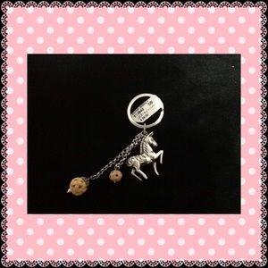 Brighton Accessories - Authentic Brighton Silver Horse Keychain