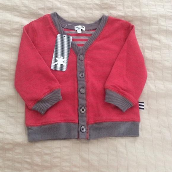 6762867ab Splendid Baby Boy Girl Sz 3-6m Button Cardigan Boutique