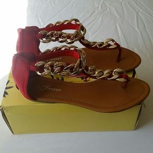Chain link Sandals