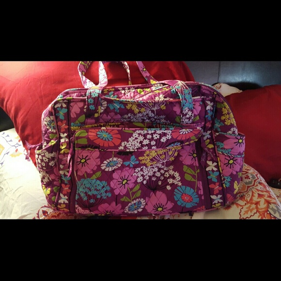 54 off vera bradley handbags vera bradley diaper bag from theresa 39 s closet on poshmark. Black Bedroom Furniture Sets. Home Design Ideas
