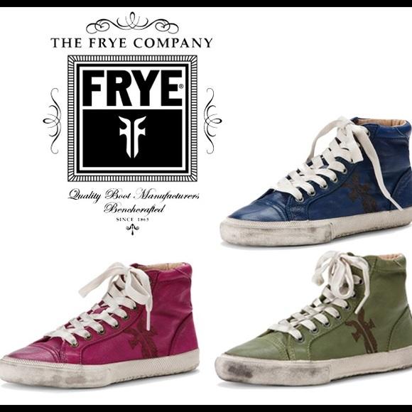 Frye Shoes | Frye Kira High Top | Poshmark