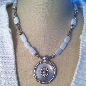 By SusAnn Jewelry - Silver Necklace