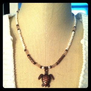 By SusAnn Jewelry - Turtle Necklace