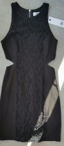 Dolce Vita Cutout LBD Dress New