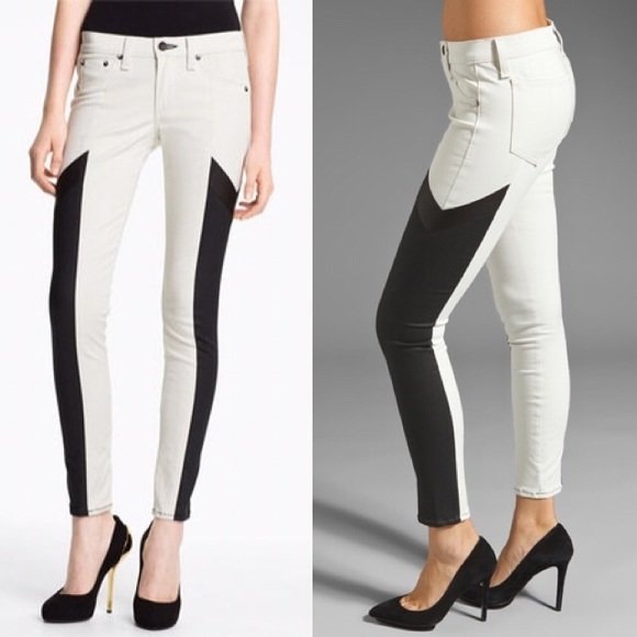rag & bone Jeans - rag & bone Grand Prix Paneled Leggings