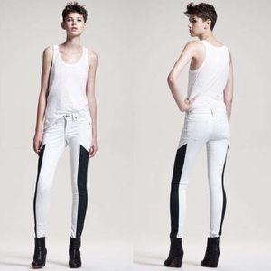 rag & bone Jeans - rag & bone Grand Prix Paneled Leggings
