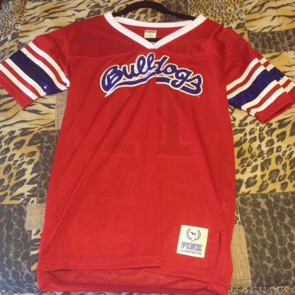 big sale 98b7a abd58 Victoria's Secret Fresno state Bulldogs jersey NWT
