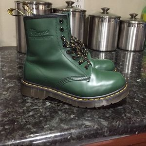 56be899784b Dr. Martens Shoes - green dr.martens (cheaper on d e p o p )