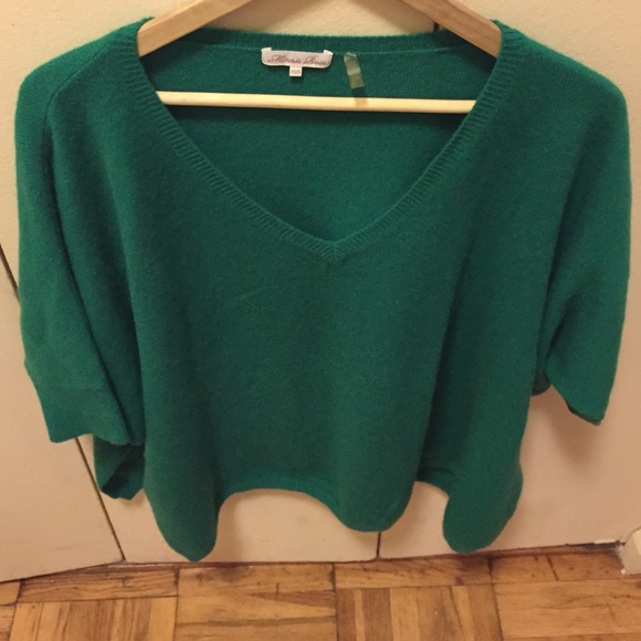 73% off Minnie rose Sweaters - Minnie rose emerald green cashmere ...