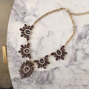 HP❤️Rhinestone Statement Necklace