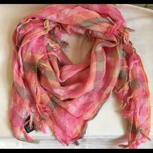 Forever 21 ∼ Pink Plaid Scarf