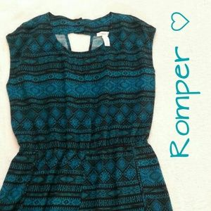 Ambiance Apparel Dresses & Skirts - #HP Teal Romper NWOT